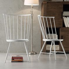 LET'S STAY: Cool Modern Windsor Dining Wood Chair Design
