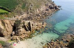 Kayaking in the clear, waters of Porthgwarra, Cornwall, UK. More on the fishing… Cornwall Cottages, West Cornwall, Cornwall England, Great Places, Places To Visit, Amazing Places, Cornish Beaches, Cornish Coast, South West Coast Path