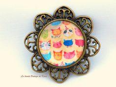 Broche filigrana REF.01 de La Tienda Vintage de Kima por DaWanda.com