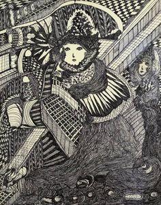 madge gill | The Extraordinary Mediumship Of Madge Gill
