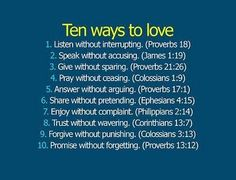 Normally I don't care for biblical verses or quotes, but I like these. Especially forgiving without punishing.