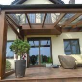 Ogród zimowy - Polkowice - Galeria zdjęć - Ogrody zimowe - ogrody zimowe cennik - ogrody zimowe drewniane - Stolteam Home Garden Design, Patio Design, Home And Garden, House Design, Timber Pergola, Sunroom, Bbq, Outdoor Structures, Outdoor Decor