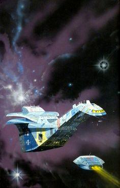 Halcyon Drift by Angus McKie