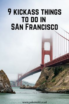 9 kickass things to do in San Francisco. A city guide for planning your trip to San Francisco, California, including all the main attractions and hidden gems for bucket list trip to the windy city. Usa Travel Guide, Travel Usa, Travel Tips, Travel Goals, San Francisco Travel Guide, Trip To San Francisco, San Francisco California, San Diego, Parks