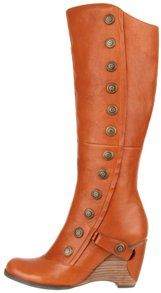 How cute are these boots? I LOVE the buttons and the wood heels. LOVE.