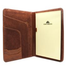 Tony Perotti Unisex Italian Bull Leather Express Business x 11 Writing Padfolio in Cognac Cow Leather, Leather Craft, Leather Notepad, Writing Portfolio, Business Writing, Future Trends, Leather Cleaning, Corporate Gifts, Unisex