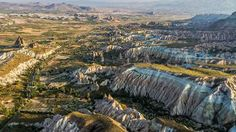 Cappadocia from the ground and from the sky