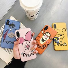 Cute Winnie Pooh Tigger Piglet Eeyore Soft Silicone Phone Case for iph - . - Cute Winnie Pooh Tigger Piglet Eeyore Soft Silicone Phone Case for iph – elega … – I& r - Iphone 7 Plus, Iphone 8, Coque Iphone 6s Disney, Iphone Phone Cases, Iphone Case Covers, Cute Cases, Cute Phone Cases, Bff Cases, Friends Phone Case