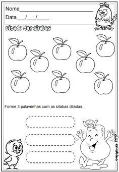 ATIVIDADES DE EDUCAÇÃO INFANTIL  E MUSICALIZAÇÃO INFANTIL: DITADOS - EDUCAÇÃO INFANTIL