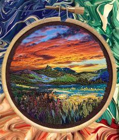 Arte del bordado - Vera Shimunia, artista rusa.