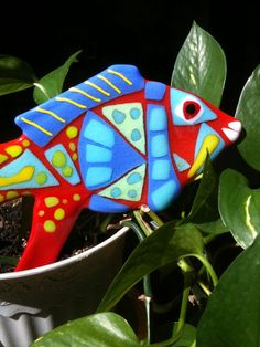 Garden Art Fused Glass Suncatcher by RomanticGlassworks on Etsy