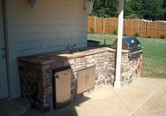 exterior kitchen refrigerator