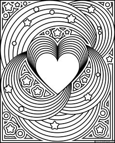 Elegant Print Your Own Coloring Book 83 Rainbow love coloring