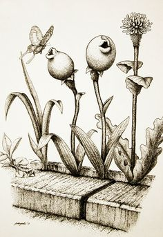 Chu-Lip: the fictional plant that loves to kiss