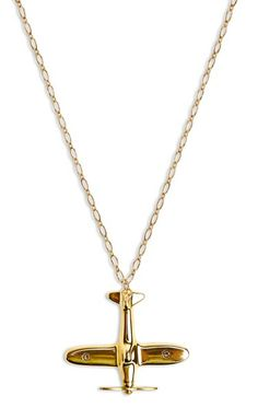 Take flight necklace: to wear while you're daydreaming about Code Name Verity