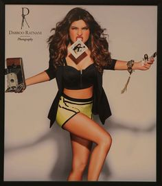 Priyanka Chopra looked fasionable and quirky as she struck a pose for Dabboo Ratnani. #Style #Bollywood #Fashion #Beauty