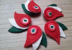 felt embroidery brooch tutorial - Căutare Google