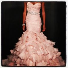 Maggie Sottero. Such a gorgeous dress! (: