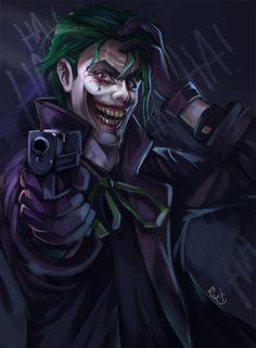 The Joker by HokutoFighter