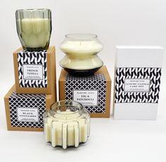 #madameluna #lunac #candles #scentedcandles #new #gift #black #designer Essential Oil Blends, Essential Oils, Paraffin Wax, Candle Making, Scented Candles, Fragrance, Glass, Design, Making Candles