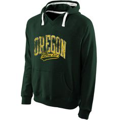 Oregon Ducks Solace Slub Pullover Hoodie – Green