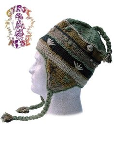 HANDSTITCHED WOOL FLAP HAT WITH FLEECE LINING