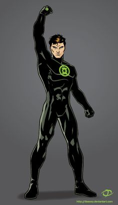 Green Lantern costume redesign by ~Tloessy on deviantART