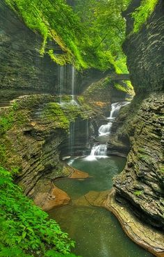 Watkins Glen, New York - some day, I need to go here!