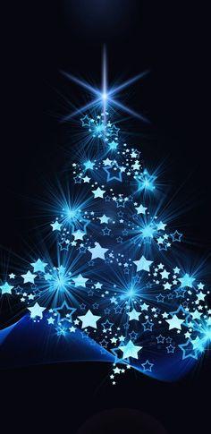 christmas Vintage Christmas Cards, Christmas Greetings, Christmas Wishes, Christmas Scenes, Blue Christmas, Christmas Holidays, Iphone Wallpaper Xmas, Christmas Wallpaper, Iphone Wallpapers