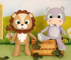 Sewing Stuffed Animals, Felt Baby, Safari, Felt Dolls, Pikachu, Teddy Bear, Cartoon, Toys, Crafts