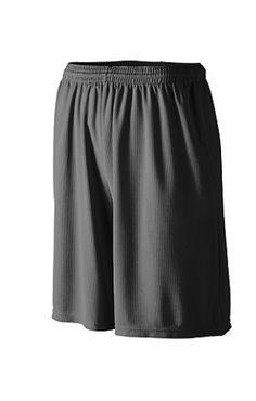 Augusta Sportswear Orbit Shorts XL Graphite Shatter Print//Black