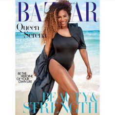 Curvy queen Serena Williams