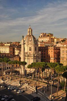 Foro Traiano - Rome, Italy