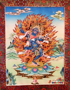Krodha Kali -(tib. Troma Nagmo)