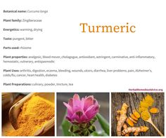 Turmeric is an incredible herb that has inspired hundreds of scientific studies. Its ability to address serious health problems from Alzheimer's to cancer is astonishing. I have seen it help countless people with their arthritic pain. It is definitely an herb I wouldn't want to be without! I highly recommend enjoying turmeric daily in your meals as a way of getting its myriad of benefits.