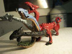 Warhammer Capa Sobre Capa - Diorama Dragones y Mazmorras - Obras propias-Tiamat