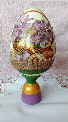 Easter Crafts, Decoupage