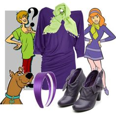 POLYVORE HAS THE BEST COSTUME IDEAS!!