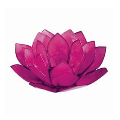 Pink Pearl Lotus Tealight Holder | dotandbo.com