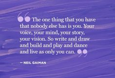 7 posts published by The Writers' Loop during September 2014 Great Quotes, Quotes To Live By, Inspirational Quotes, Philosophical Thoughts, Girl Power Quotes, I Am A Writer, Neil Gaiman, Book Girl, Love Book