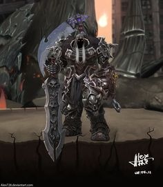 Another one from Darksiders.. WAR!! a more oily natural painting with a light aroma of oak and wild berries... hehehehe again, WAR and Darksiders are © Vigil Games Hope you like!