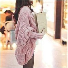 Long Sleeve Autumn Winter Knitted Cardigan Coat