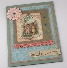 Encouragement Card  Handmade Card  Thinking of by CardsbyGayelynn