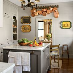 Vintage Style Kitchen - Kitchen Inspiration - Southern Living