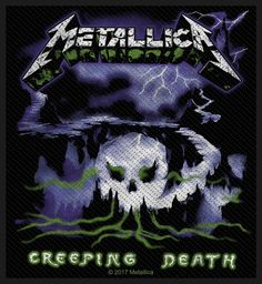 Official Patch. Licensed product. Metallica, Patches, Death, The Unit
