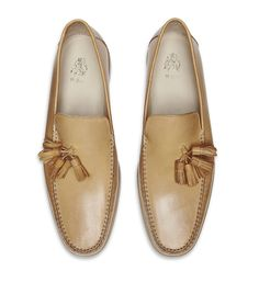 Mr. Hare Mailer Tassel Loafer in Tan