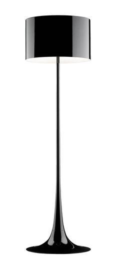 FLOS Spun Light F Floor Lamp. Classic shape, modern materials. Perfect.