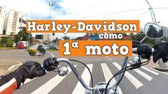 Escape na Cidade - Harley-Davidson como 1ª Moto - Dyna Super Glide Custom