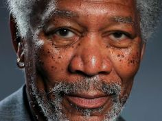 This oil painter created a portrait of Morgan Freeman using only an iPad Air app.