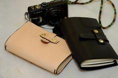 SOMNIUM LEATHER - Prototipo de novo Notebook Cover com novo sistema de fecho (e)